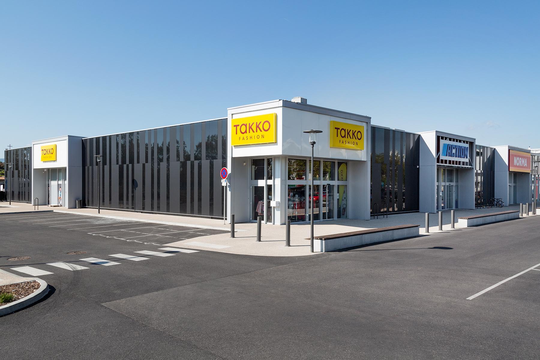 Centre Commercial de l'Europe à COLMAR
